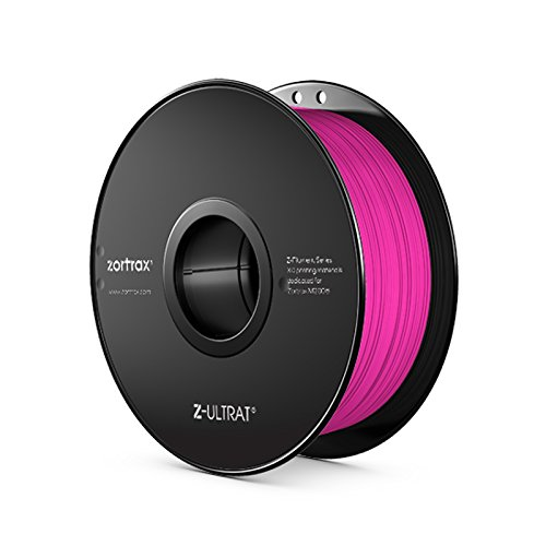 Zortrax 5902280820338 Z-ULTRAT Filament pour Imprimante 3D, Rose fluo