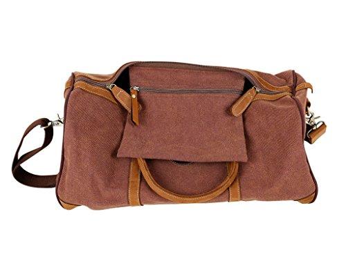 Salvador Bachiller - Weekend Bag - Harper 144 - blu marrón