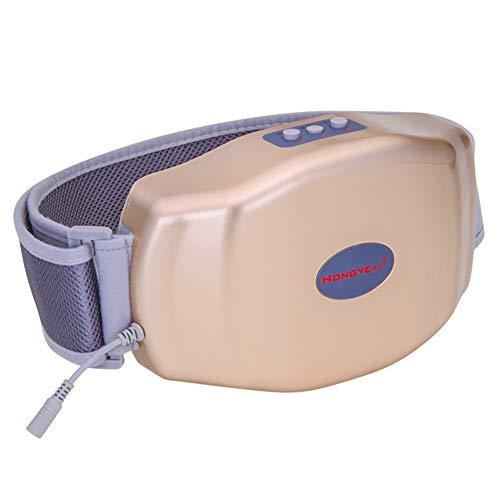 Taillen- und Bauchmassagegerät, das Magen-Darm-Auswurf-Aufblähungs-Artefakt-Physiotherapie-Maschine erhitzt,Gold,26x16.5x5.5cm