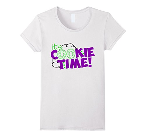 funny-its-cookie-time-shirt-scouts-girl-kids-scouting-mom-damen-gre-l-wei