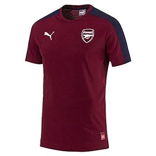 Puma Herren Arsenal FC Fan T7 Tee T-Shirt, Pomegranate-Peacoat, L