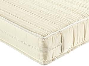 poly matelas orthop dique breckle avec housse en microfibre respirante utiliser toute l 39 ann e. Black Bedroom Furniture Sets. Home Design Ideas