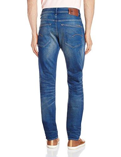 G-STAR RAW 3301 Slim - Jeans - Slim - Homme Bleu (Medium Aged 609)