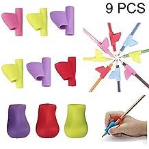 Soporte de Lápiz de Niños, Pencil Grips, Adaptador Lapiz Herramienta de Corrección de Postura
