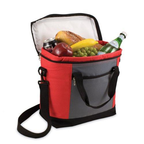 tiempo-de-picnic-montero-insulated-cooler-tote-unisex-red-gray-talla-nica