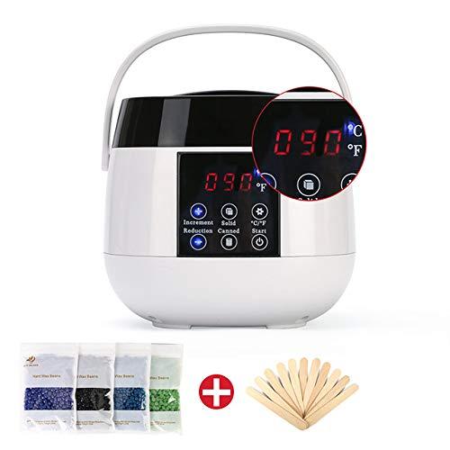 XKRSBS Professionelle Epilation Werkzeuge Professionelle Epilation Heizung Spa Hand Haarentfernung Haarentfernung Hautpflege Paraffinwachsmaschine Set - 100w Spa