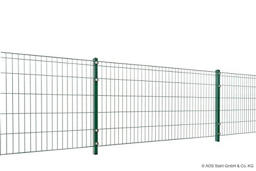 Metallzaun-Set Einfache Montage zum Einbetonieren