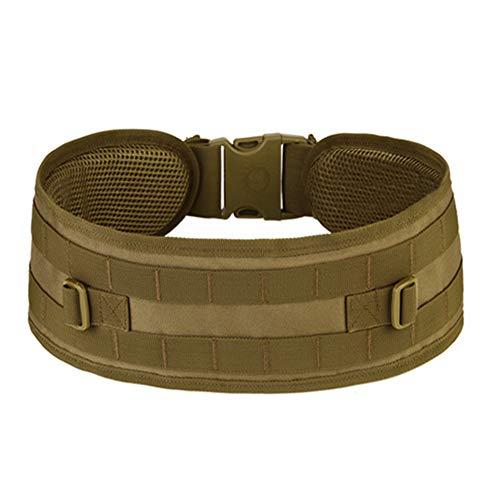 Outflower Camouflage-Nylongürtel, taktischer Outdoorgürtel, Mehrzweckausrüstung Feldgürtel, breiter Militärgürtel - Größe:100-135 cm -