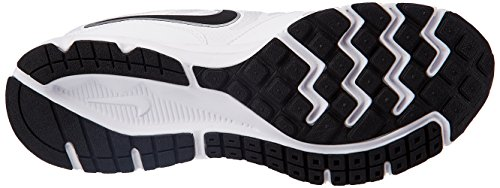 Nike Downshifter 6 Msl Scarpe da Corsa, Uomo Bianco/Nero/Argento