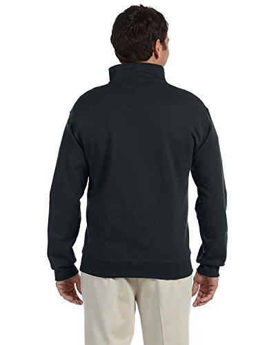 Jerzees Adult Preshrunk Seamless Quarter-Zip Fleece Sweatshirt (Quarter-zip Fleece)