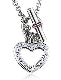 Tommy Hilfiger jewelry Damen-Kette Edelstahl Emaille rot/weiß/blau 2700277