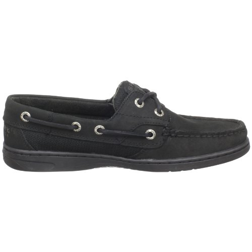 Sperry - Scarpe basse stringate, Donna Nero