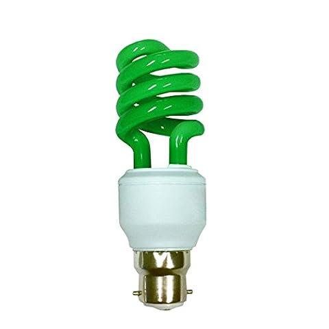 Pro-Lite 15w Helix spiral low energy CFL light bulb (bayonet