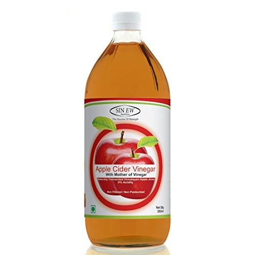 Sinew Nutrition Raw Apple Cider Vinegar (Unfiltered & Unpasteurised) with strands of Mother 350ml  available at amazon for Rs.169