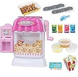 WJJ Lernspielzeug für Kinder, Popcornautomaten für Kinder, Spielzeugautomaten,Rosa,Vendingmachine