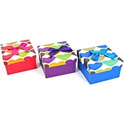 Ribbon Jewellery Empty Box Watches Bracelets Gift Box With Cushion