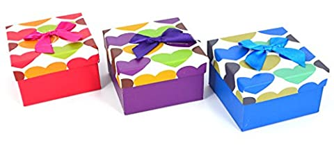 Ribbon Jewellery Empty Box Watches Bracelets Gift Box With Cushion
