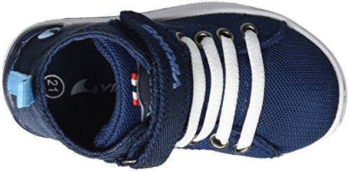 Viking - Frogner Kids Mid, Scarpe sportive outdoor Unisex – Bambini Blu (Nave/White)