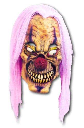 Purple Acid Clown Maske (Die Clown Kostüme Streifen Erwachsenen)