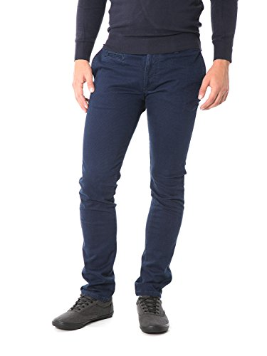 FIFTY FOUR - Pantaloni da uomo skinny fit attic g537 Blu