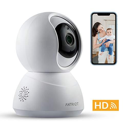 WLAN Kamera Indoor by ANTRAZIT - Überwachungskamera Innen WLAN H...