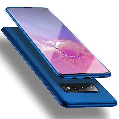 X-level für Samsung Galaxy S10 Hülle, [Guardian Serie] Soft Flex Silikon Premium TPU Echtes Telefongefühl Handyhülle Schutzhülle Kompatibel mit Galaxy S10 6,1 Zoll Case Cover - Blau
