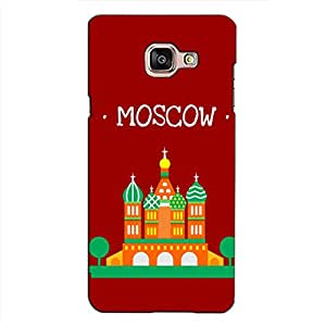 PrintVisa Designer Back Case Cover for Samsung Galaxy On Max (Animated Moscow Monument)