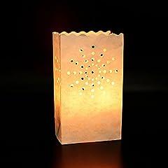 50 Stück Lichttüten candle bags