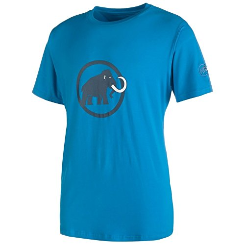 Mammut Logo T-Shirt Men - Mammut Freizeitshirt Blau
