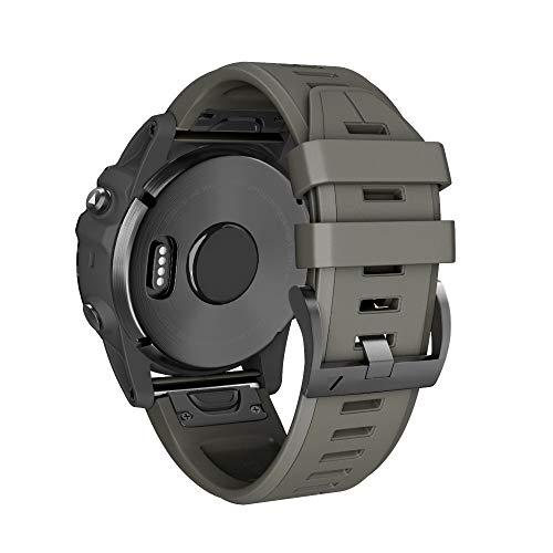 Unisex Bestes Geschenk für Garmin Fenix 5X Plus !!! Beisoug Quick Release Silikonband Schnellverschluss Easy Fit Armband Ersatz Casual Samrt Fitness Armband