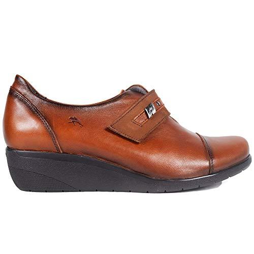 Zapatos Fluchos F0593 Cuero - Color - Cuero, Talla - 36