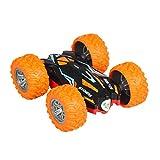 Sixcup RC Off-Road Toy Car Kids 360 gradi di rotazione acrobazie modello RC 2.4G con telecomando trasmettitore ad alta velocitxe0 giocattolo fuori strada Orange
