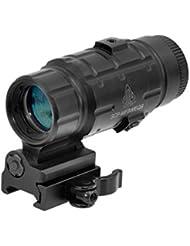 UTG Magnifier basculant x3 Visée point rouge Noir