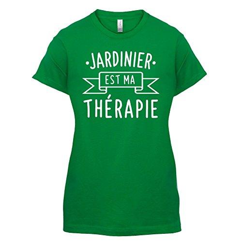 Jardinier est ma thérapie - Femme T-Shirt - 14 couleur Vert