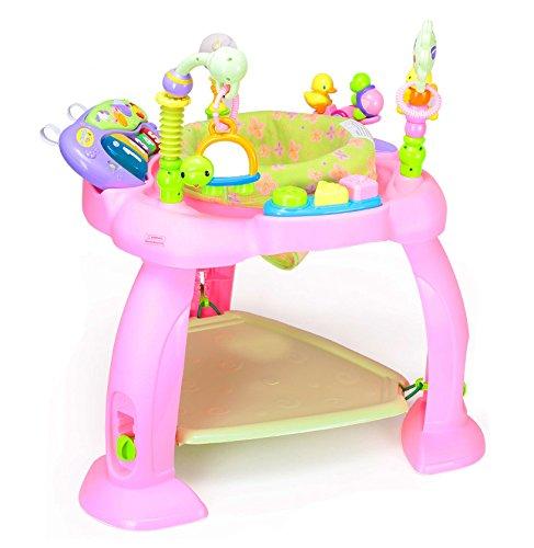 Activitycenter, seggiolino multifunzione con giochi per bambini in due colori