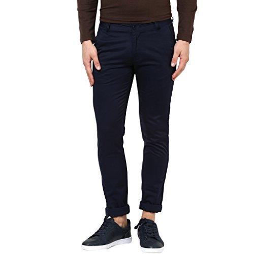 BUKKL-Blue-Slim-Fit-Casual-Trouser