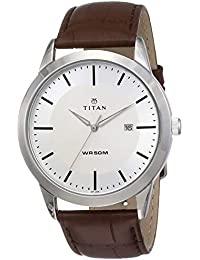 Titan Analog Silver Dial Men's Watch NM1584SL03 / NL1584SL03