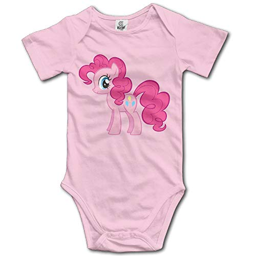 My Little Pony Pinkie Pie Custom Baby Boy Girl Jumpsuit Cotton Latest 6 Months (Outfits Pinkie Pie)