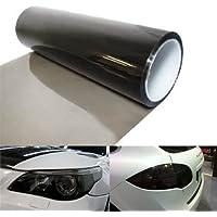 Adhesivo para cubrir los faros traseros del vehículo (vinilo tintado, 100 cm x 30 cm, para faros antiniebla, impermeable), de Easytar