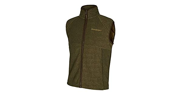 cd8fa2621bcb5 Deerhunter Wingshooter Fleece Weste ind 371 Graphite Green: Amazon.de:  Sport & Freizeit