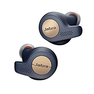Jabra Elite Active 65t True Wireless Stereo in-Ear Sport-Kopfhörer (Bluetooth, Musik Hören und telefonieren, Sprachsteuerung für Alexa, Siri und Google Assistant) kupfer blau