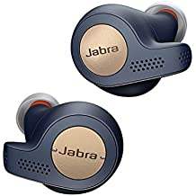 Jabra Elite Active 65t In-Ear Wireless Bluetooth Sports Earbuds and One Touch Amazon Alexa Built In - Copper Blue
