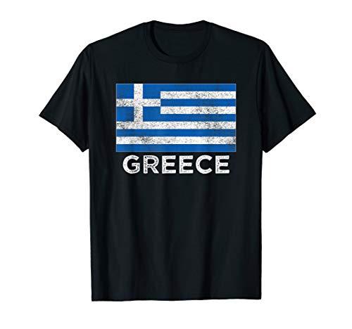 Griechenland Flagge T-Shirt für Männer Frauen und Kinder - Kinder T-shirts Griechenland
