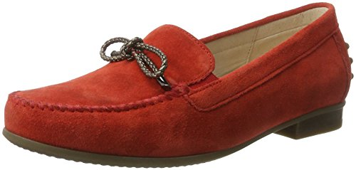Gabor Shoes Damen Comfort Mokassin, Rot (Strawberry 48), 41 EU