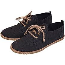 virblatt Alpargatas Zapatos de cáñamo Veganos con Cordones para Hombres – Barfuß
