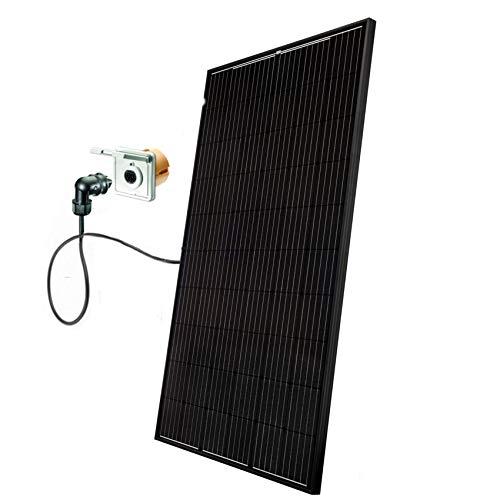 Minisolar Balkon Solar Mono Single 310W mit Micro-Wechselrichter