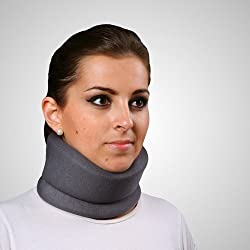 Collarín cervical blando- Emo (Color gris) talla m (43 cm)