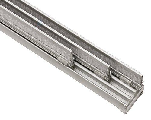 Flächenvorhangschiene 3-läufig aluminium 170