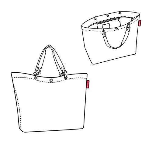 Reisenthel Shopper XL - Bolsa de Playa (68 cm), Poliéster, Millefleurs, 68 cm
