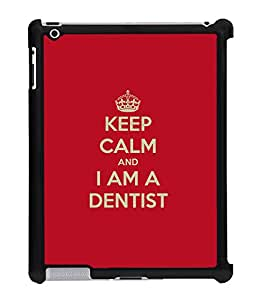 Fuson 2D Printed Dentist Wallpaper Designer Back Case Cover for Apple iPad 4 - D673